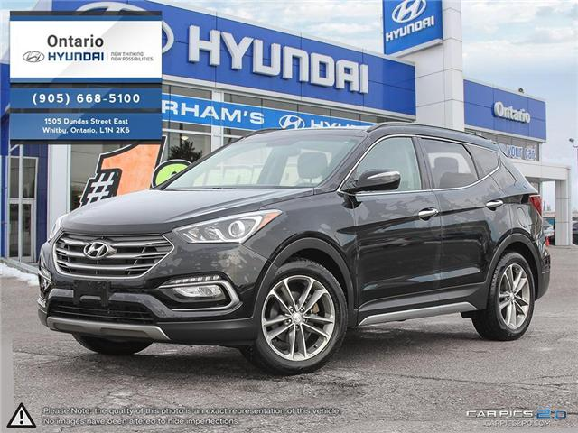 2017 Hyundai Santa Fe Sport 2.0T Limited / Navigation (Stk: 71090K) in Whitby - Image 1 of 27