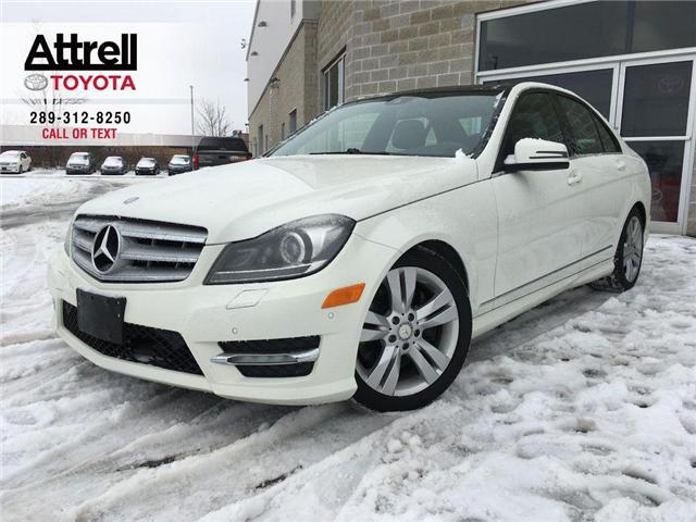 2012 Mercedes-Benz C-Class C300 4MATIC NAVI, PANO SUNROOF, ALLOYS, FOG, LEATH (Stk: 41361AB) in Brampton - Image 1 of 25