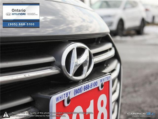 2018 Hyundai Elantra GLS (Stk: 79127K) in Whitby - Image 9 of 27