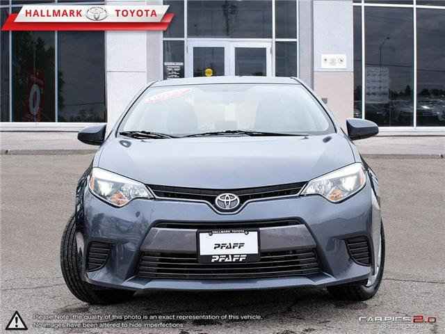 2016 Toyota Corolla 4-door Sedan LE CVTi-S (Stk: H19220A) in Orangeville - Image 2 of 27