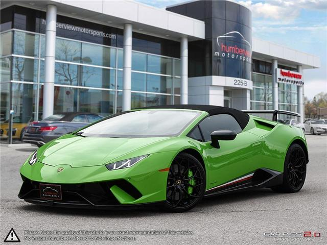 2018 Lamborghini Huracan Performante | AWD | V10 | 640 hp @ 8000 rpm | MAX (Stk: 18MSX572) in Mississauga - Image 1 of 29