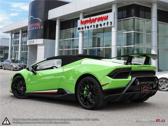 2018 Lamborghini Huracan Performante | AWD | V10 | 640 hp @ 8000 rpm | MAX (Stk: 18MSX572) in Mississauga - Image 4 of 29
