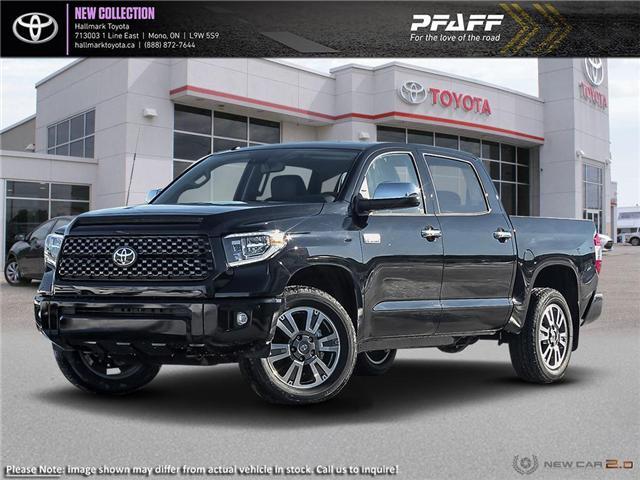 2019 Toyota Tundra 4x4 CrewMax Platinum 5.7 6A (Stk: H19160) in Orangeville - Image 1 of 23