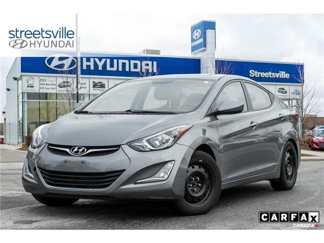 2016 Hyundai Elantra  (Stk: 19XL011A) in Mississauga - Image 1 of 8