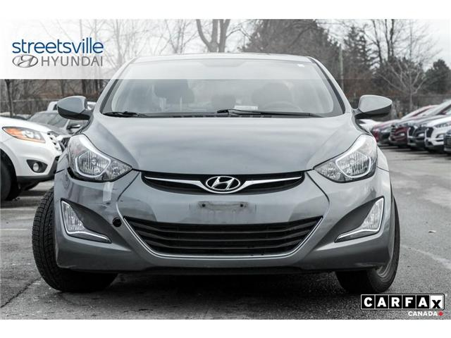 2016 Hyundai Elantra  (Stk: 19XL011A) in Mississauga - Image 2 of 8