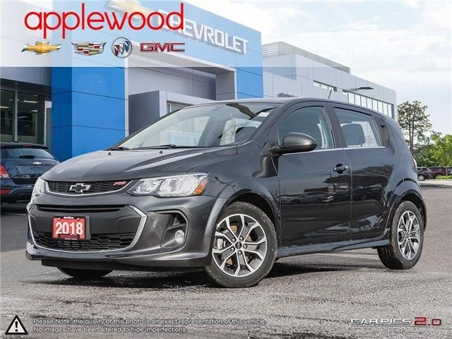 2018 Chevrolet Sonic LT Auto (Stk: 7995A) in Mississauga - Image 1 of 27
