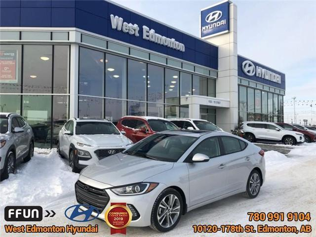 2018 Hyundai Elantra  (Stk: E4345A) in Edmonton - Image 1 of 28