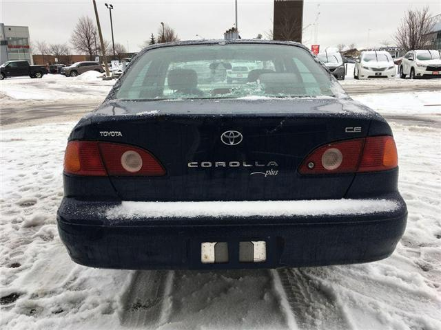 2001 Toyota Corolla CE AUTO, AIR, POWER DOOR LOCKS (Stk: 42291AB) in Brampton - Image 4 of 9