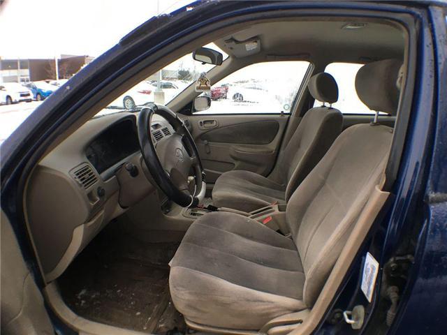 2001 Toyota Corolla CE AUTO, AIR, POWER DOOR LOCKS (Stk: 42291AB) in Brampton - Image 8 of 9