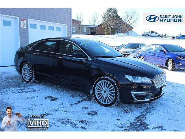 2017 Lincoln MKZ Reserve (Stk: U1634) in Saint John - Image 1 of 14