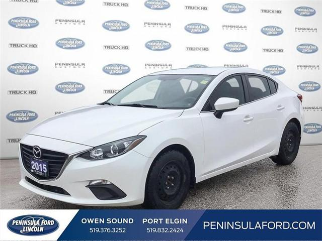 2015 Mazda Mazda3 GS (Stk: 18MU22A) in Owen Sound - Image 1 of 24