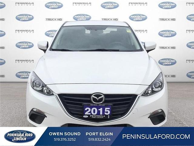 2015 Mazda Mazda3 GS (Stk: 18MU22A) in Owen Sound - Image 2 of 24