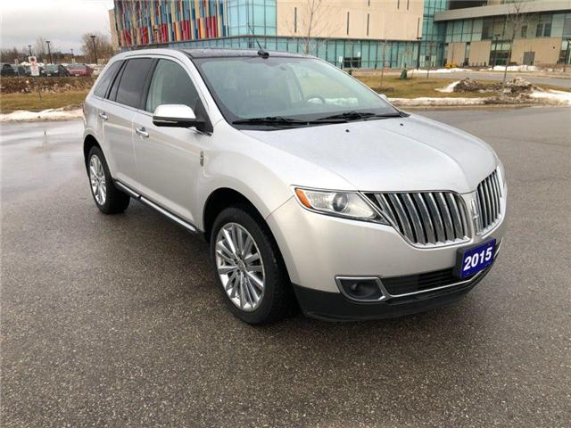 2015 Lincoln Mkx Base At 23675 For Sale In Uxbridge Uxbridge Ford