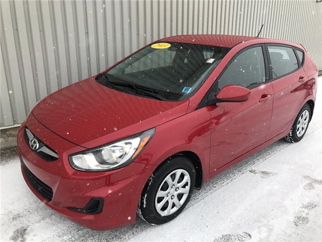 2013 Hyundai Accent L (Stk: X4602A) in Charlottetown - Image 1 of 16