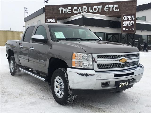 2013 Chevrolet Silverado 1500 LS (Stk: 18517-1) in Sudbury - Image 1 of 12