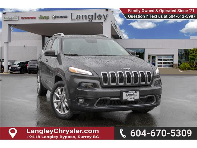 2016 Jeep Cherokee Limited (Stk: EE896810A) in Surrey - Image 1 of 14