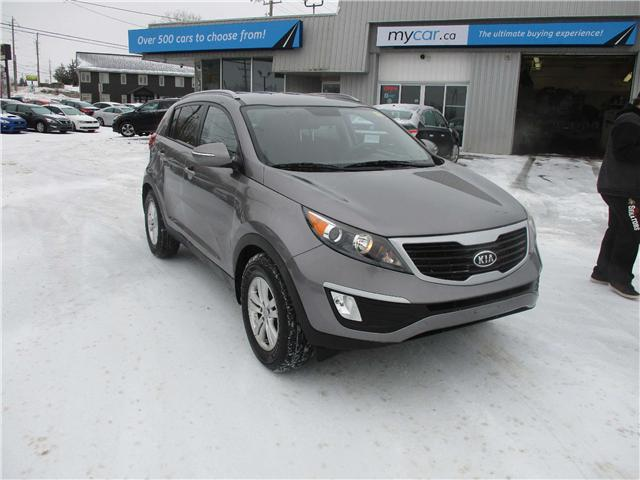 2012 Kia Sportage LX (Stk: 190095) in Kingston - Image 1 of 12