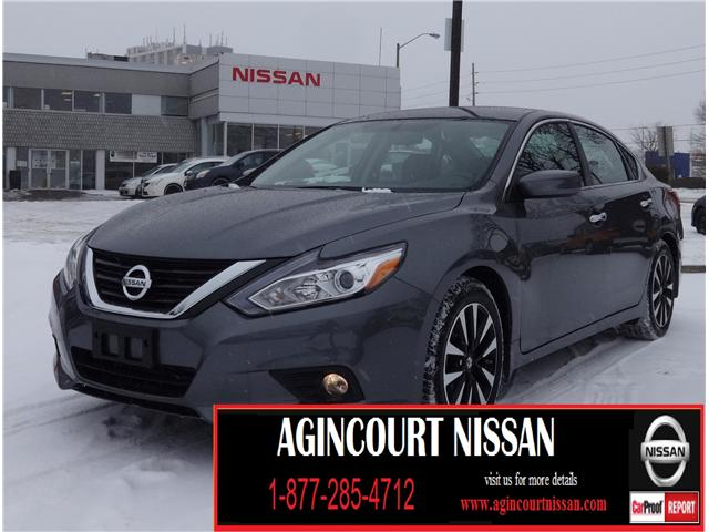 2018 Nissan Altima 2.5 SV (Stk: U12410) in Scarborough - Image 1 of 21