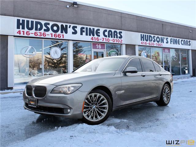 2012 BMW 750i xDrive (Stk: 99459) in Toronto - Image 1 of 30