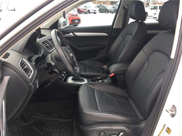 2017 Audi Q3 2.0T Komfort (Stk: 18423) in Sudbury - Image 12 of 14