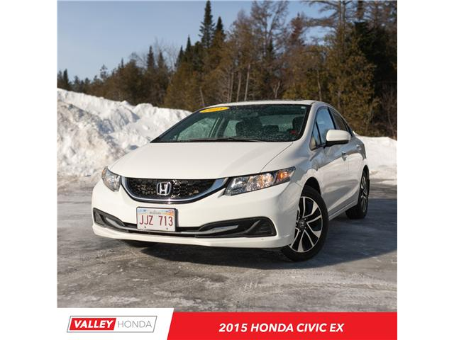 2015 Honda Civic EX (Stk: U5013A) in Woodstock - Image 1 of 12