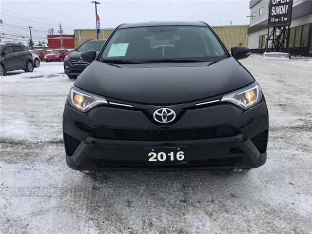 2016 Toyota RAV4 LE (Stk: 18414) in Sudbury - Image 2 of 12