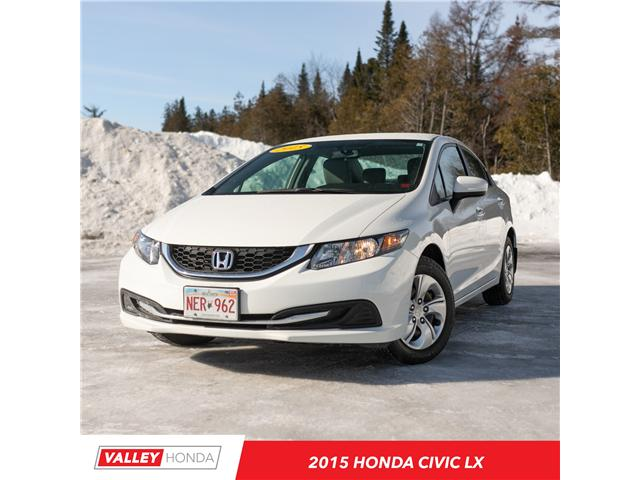 2015 Honda Civic LX (Stk: U4968B) in Woodstock - Image 1 of 11