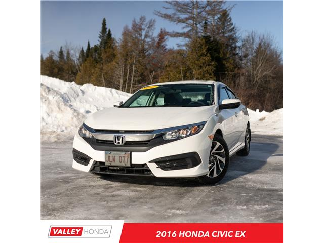 2016 Honda Civic EX (Stk: U4972A) in Woodstock - Image 1 of 9