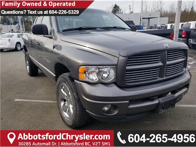 Used 2003 Dodge Ram 1500 for sale in Abbotsford