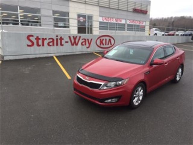 2013 Kia Optima EX+ (Stk: 410239A) in Antigonish / New Glasgow - Image 1 of 10