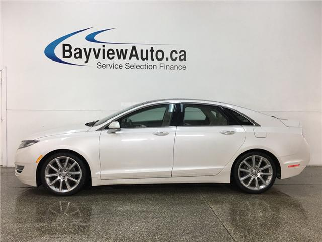 2016 Lincoln MKZ Hybrid Base (Stk: 34361J) in Belleville - Image 1 of 26