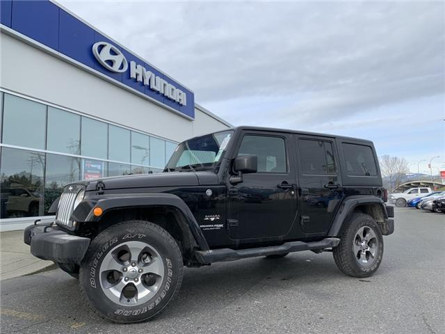 2018 Jeep Wrangler JK Unlimited Sahara (Stk: H19-0030P) in Chilliwack - Image 1 of 1