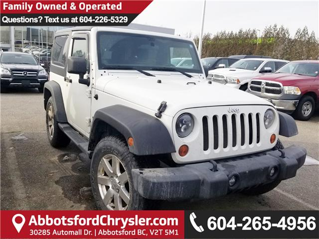 2013 Jeep Wrangler Sport (Stk: J303239A) in Abbotsford - Image 1 of 1