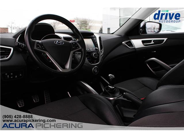 2014 Hyundai Veloster Tech (Stk: AP4708A) in Pickering - Image 2 of 24