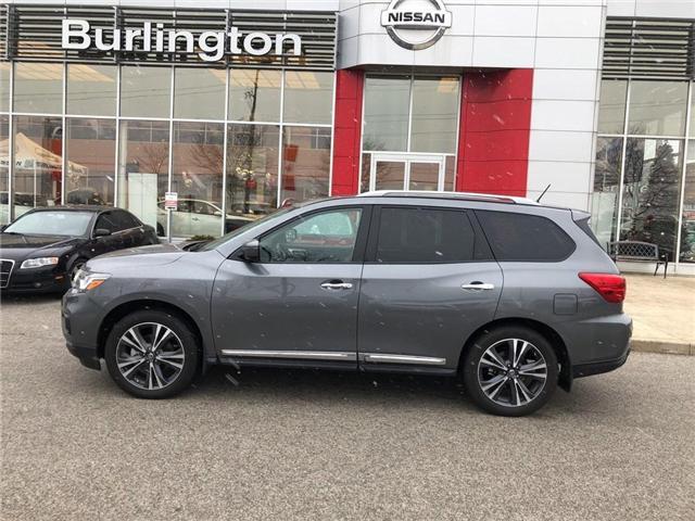 2018 Nissan Pathfinder Platinum (Stk: X4385) in Burlington - Image 2 of 20