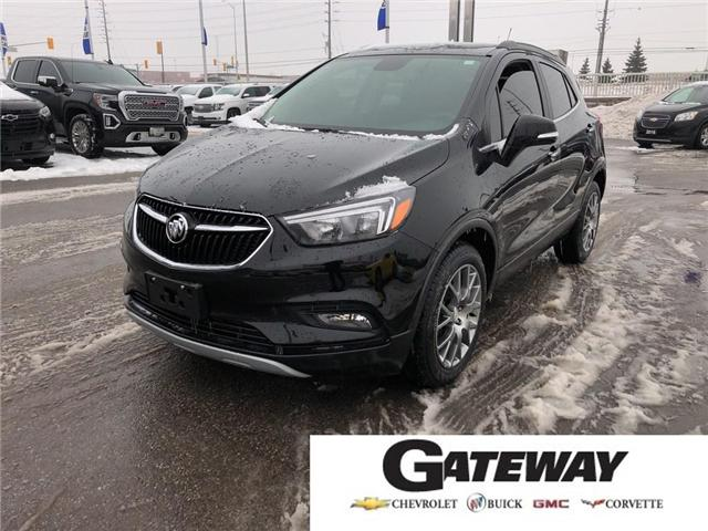 2018 Buick Encore Sport Touring|SUNROOF|REAR CAMERA|HEATED SEATS| (Stk: PL17837) in BRAMPTON - Image 1 of 18