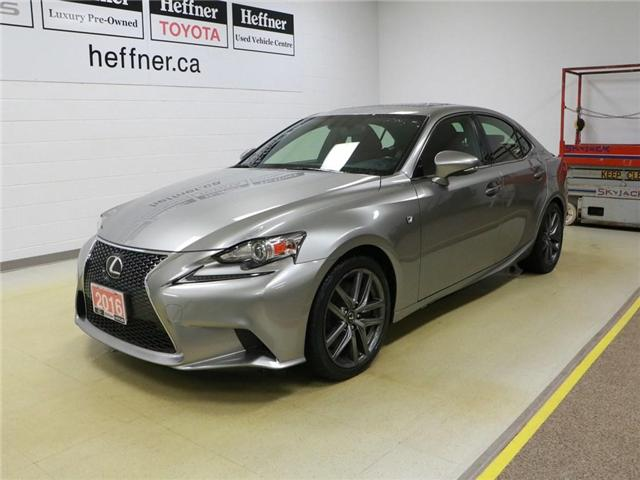 2016 Lexus IS 300 Base (Stk: 197019) in Kitchener - Image 1 of 29