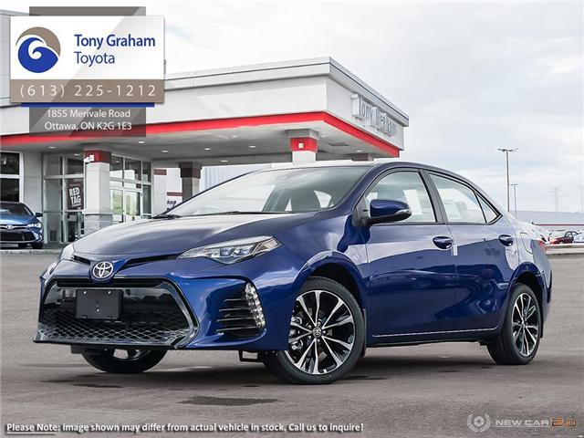 2019 Toyota Corolla SE Upgrade Package (Stk: 57869) in Ottawa - Image 1 of 23