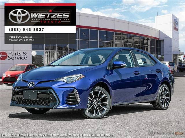 2019 Toyota Corolla XSE Package (Stk: 68109) in Vaughan - Image 1 of 24