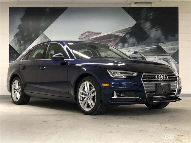 2019 Audi A4 45 Technik (Stk: AUTS8309) in Richmond - Image 1 of 22