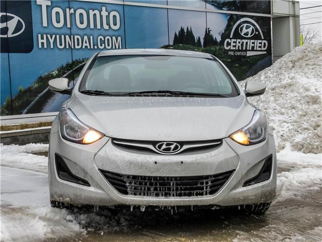 2015 Hyundai Elantra GL (Stk: U06400) in Toronto - Image 2 of 9