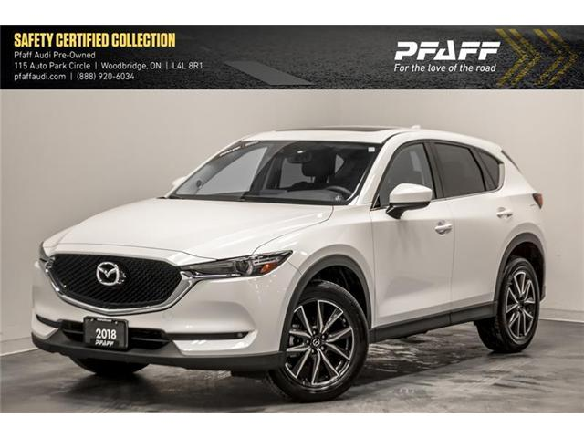 2018 Mazda CX-5 GT (Stk: T16235A) in Woodbridge - Image 1 of 19