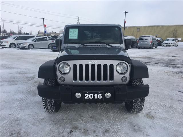 2016 Jeep Wrangler Unlimited Sport (Stk: 18029-1) in Sudbury - Image 2 of 17