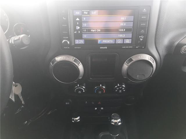 2016 Jeep Wrangler Unlimited Sport (Stk: 18029-1) in Sudbury - Image 13 of 17