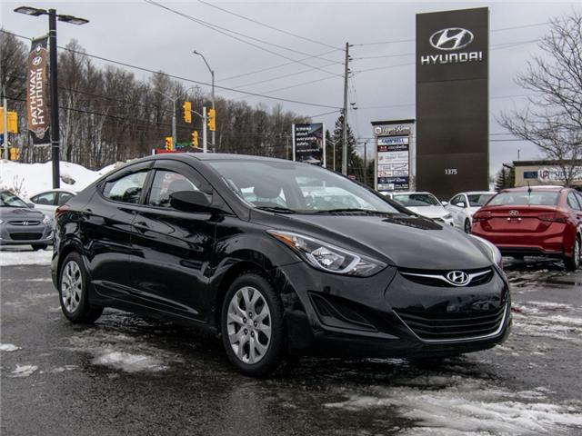 2016 Hyundai Elantra L (Stk: P3247) in Ottawa - Image 1 of 11