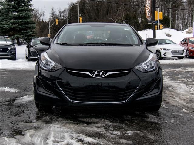 2016 Hyundai Elantra L (Stk: P3247) in Ottawa - Image 2 of 11