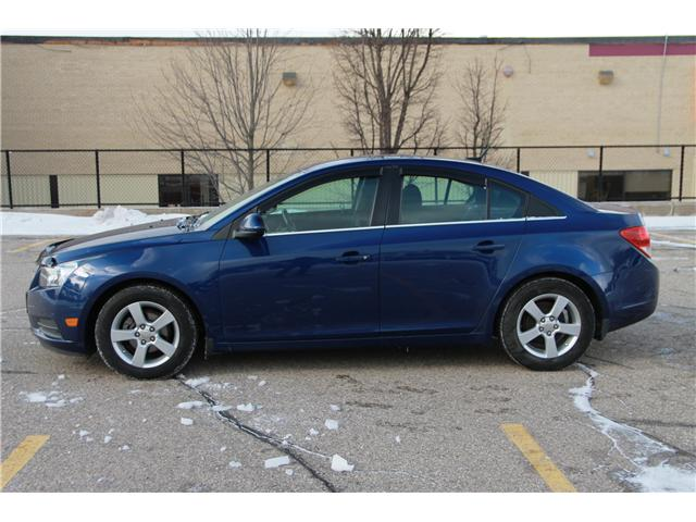 2013 Chevrolet Cruze LT Turbo (Stk: 1902047) in Waterloo - Image 2 of 26