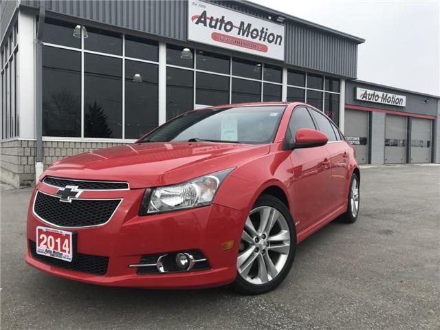 2014 Chevrolet Cruze 2LT (Stk: 19106) in Chatham - Image 1 of 5