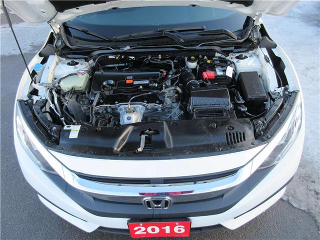 2016 Honda Civic LX (Stk: SS3352) in Ottawa - Image 10 of 10