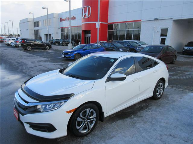 2016 Honda Civic LX (Stk: SS3352) in Ottawa - Image 1 of 10